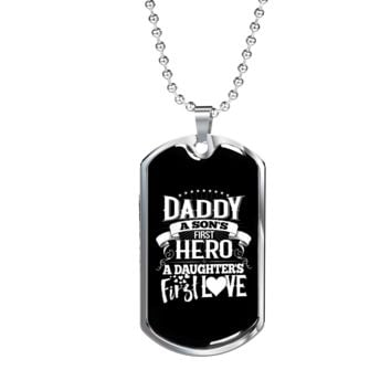 Daddy - Luxury Dog Tag Necklace
