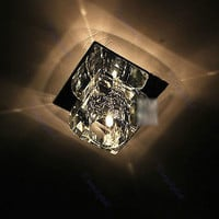 """Modern Crystal G4 Lamp bead Ceiling Light Hallway Fixture"