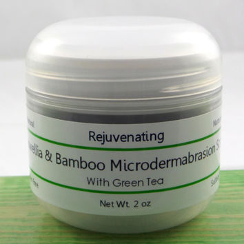 All Natural Skin Care - Boswellia & Bamboo Microdermabrasion Scrub with Green Tea. Cedar Creek Essentials