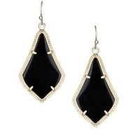 Alex Earrings in Black - Kendra Scott Jewelry