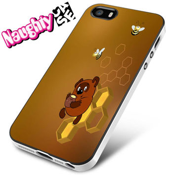 Winnie The Pooh And Honey iPhone 4s iphone 5 iphone 5s iphone 6 case, Samsung s3 samsung s4 samsung s5 note 3 note 4 case, iPod 4 5 Case