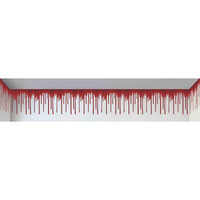 Halloween Decorations: Dripping Blood Border 20' x 1.5