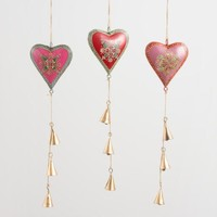 Iron Hearts Hanging Decor Set of 3