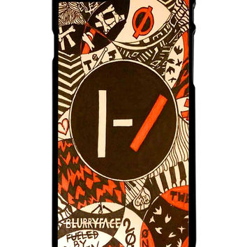 Twenty One Pilots Blurry Face Art iPhone 6 Plus Case