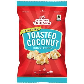 Popcorn Indiana Limited Edition Drizzled Toasted Coconut Popcorn (17 ounces) - Walmart.com