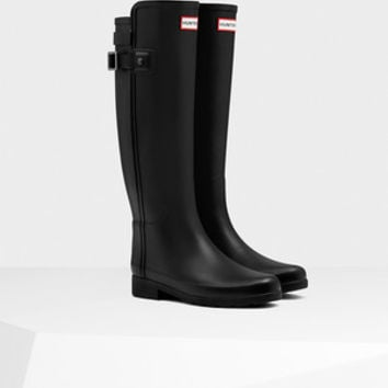 Women's Original Refined Back Strap Wellington Boots | Official Hunter Boots Site