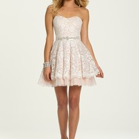 Two Tone Lace Dress with Tulle from Camille La Vie and Group USA