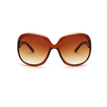Fashion Retro Oversized Round Sunglasses
