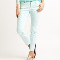 Shop Batik Dot Printed Ankle Jeans at vineyard vines