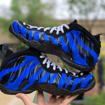 Nike Air Foamposite One Memphis Tigers Men Sneakers Size 40-46