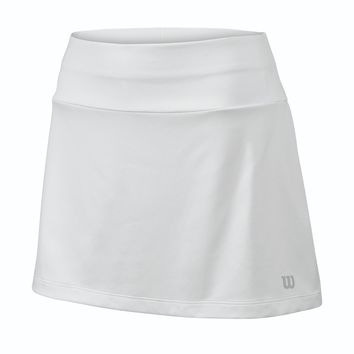 "Wilson Women's Core 12.5"" Tennis Skirt - White"