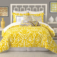 Trina Turk Ikat Duvet Cover, 100% Cotton