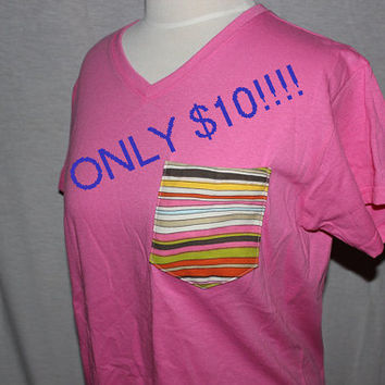 CUSTOM Pocket Frocket Shirt Size Medium by OwlOutfitters on Etsy