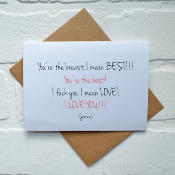 Funny cards! Funny Valentine Day card Valentine Day card Romance Card dirty card anniversary card Love card funny love cards i love you