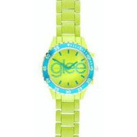 Glee Logo Watch Standard Logo with Yellow Band