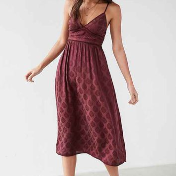 Ecote Gereldene Jacquard Midi Dress