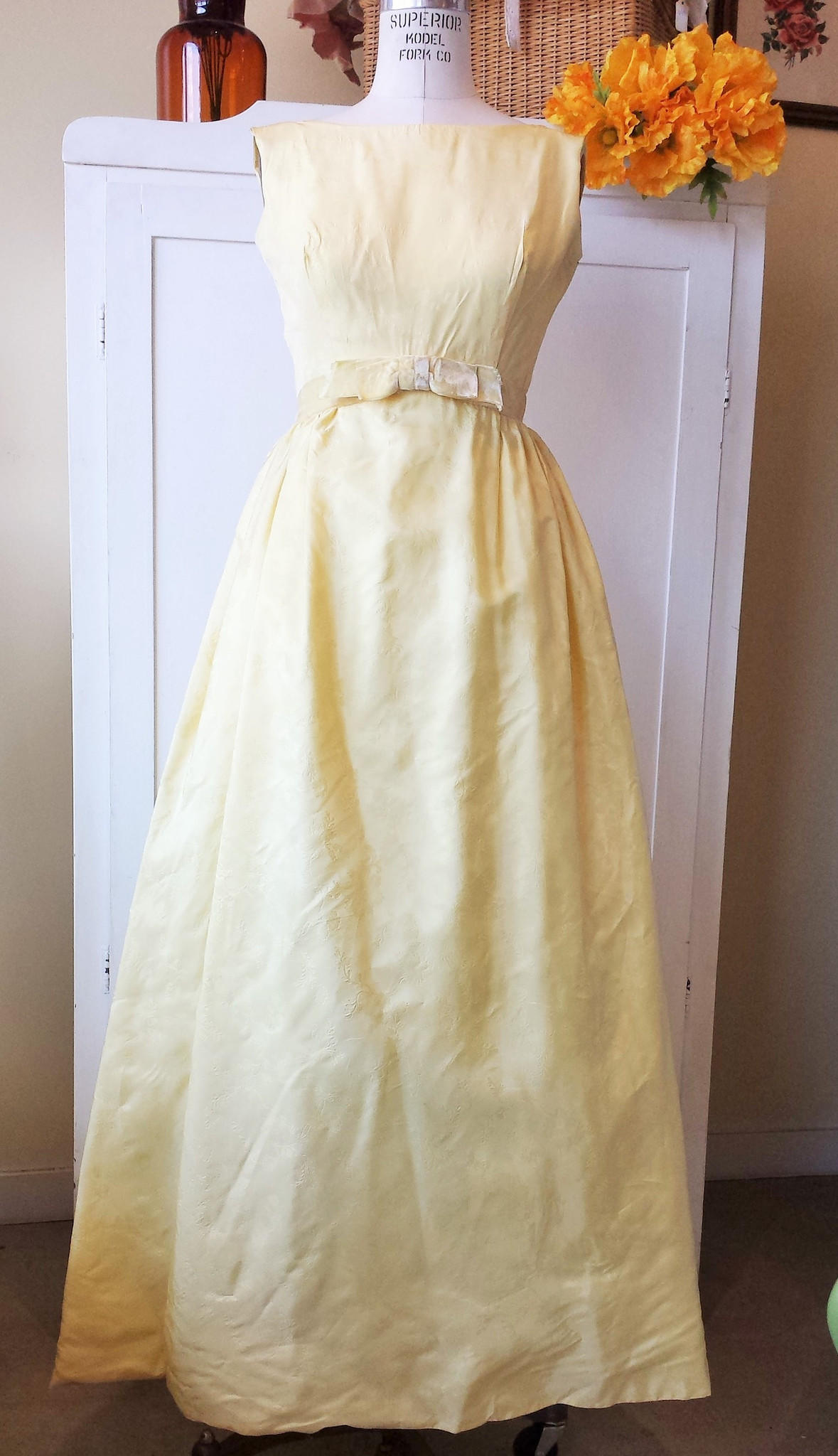 Vintage 1960s maxi dress 60s party from toadstoolfarm vintage dress 1960s bridesmaid full size ombrellifo Image collections