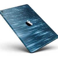 """Radiant Blue Scratched Surface Full Body Skin for the iPad Pro (12.9"""" or 9.7"""" available)"""