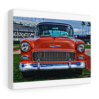 1955 Chevrolet Tri-Five Hotrod Canvas Gallery Wraps