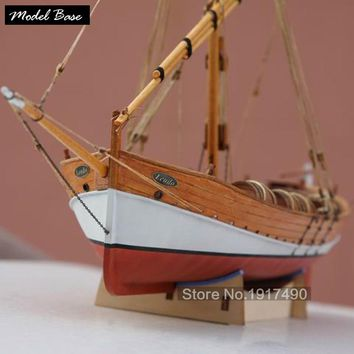 Wooden Ship Models Kits Diy Train Hobby Model-Wood-Boats 3d Laser Cut Scale 1/48 Model-Ship-Assembly Educational Leudo1800-1900
