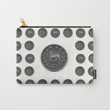 5000 Dinars Carry-All Pouch by Negin Khatoun