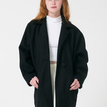 rsawn300p - Petite Long Wool Coat