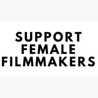 'SUPPORT FEMALE FILMMAKERS' Sticker by MillicentThomas