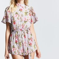 Contemporary Floral Romper