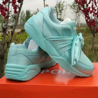 PUMA Woman Bowknot Fashion Running Sneakers Sport Shoes