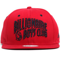 Arch New Era Snapback Hat Red