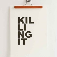 Cult Paper Killing It Art Print