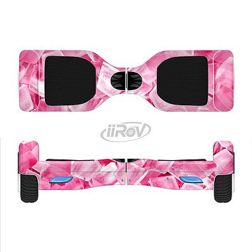 The Hot Pink Ice Cubes Full-Body Skin Set for the Smart Drifting SuperCharged iiRov HoverBoard