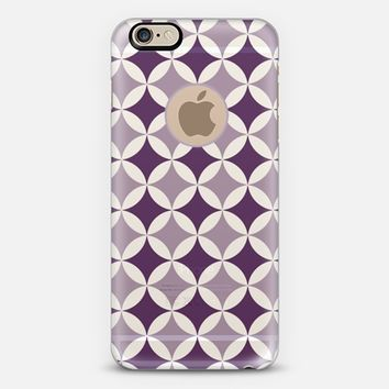 DaVinci Circles in Purple iPhone 6 case by Emilee Parry   Casetify