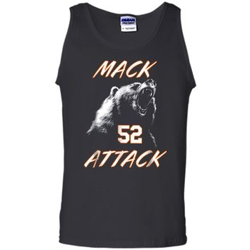 Mack Attack Bear Beast Chicago Welcome New Player 52 Tank Top