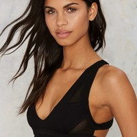Nasty Gal You Got Moves Cutout Bra