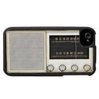 Vintage Metal Radio iPhone 4 Cover from Zazzle.com