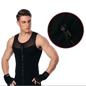 Posture Corrector Cross-fit Male Breathable Compression Body Shapewear