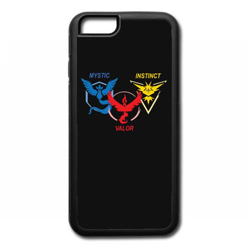 POKEMON GO TRIO TEAM iPhone 6/6s Rubber Case