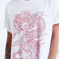 Truly Madly Deeply Dragon Tee - Urban Outfitters