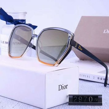 DIOR Newest Fashionable Women Men Summer Sun Shades Eyeglasses Glasses Sunglasses 3#
