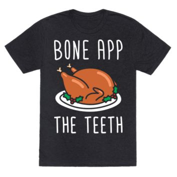 BONE APP THE TEETH (WHITE) T-SHIRT