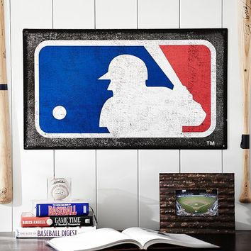 MLB Metal Sign