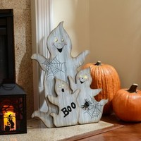 LED Ghost Family Statue | Kirklands