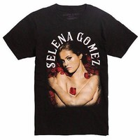 Selena Gomez Roses T-Shirt NEW 100% Authentic & Licensed XS-3XL