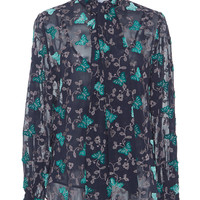 Long Sleeve Butterfly Blouse | Moda Operandi