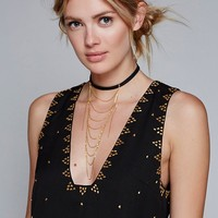 Free People SoHo Studded Shift Dress