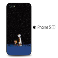 Calvin and Hobbes Space iPhone 5S Case