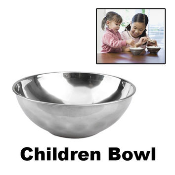 Stainless Bowl Japan Style Noodles Bowl Stainless Steel Cutlery Rice Soup Cup 11*3.3cm Cooking Tools