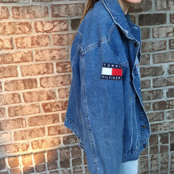 Tommy Hilfiger Patch Jean Jacket