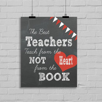 Teacher's Print -  8x10 Digital Download Print, Instant Download, Gifts for Teachers, School Gift, Classroom, Teacher Appreciation Gift